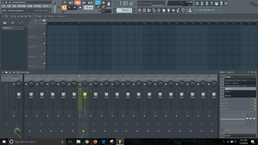fl studio 12 audio interface
